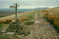 Photo of Dales Way: Sign on Cam High Road